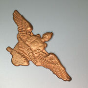 Prototype Vintage 1930and039s - Buck Rogers Solar Scouts Member Brass Pin