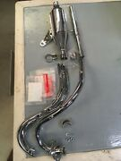 Mini Trail Z50 Honda Complete Exhaust System 69-71