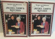 Johnny Cash Recipes And Memories From Mama Cash's Kitchen Cookbooks 1985 Signed