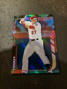 2014 Topps Finest100 Mike Trout, Mnt, Black Refractor, 87/125