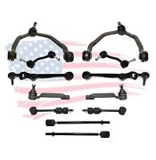 New 12 Pieces Front And Rear Suspension Set For Ford Thunderbird And Mercury Cougar