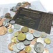 183 World Coins – Elevate Your Foreign Currency 183 Coins From 183 Countries