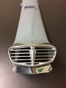 Horn Cast Cover And Grille In Primer For Lambretta Sx Rectangular Badge Type