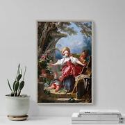 Jean Honore Fragonard - Blind Manand039s Buff 1752 Photo Poster Painting Art Print