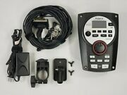 Roland Td-11 Drum Module With Power Supply, Clamp And Cable Snake Complete