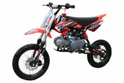 Coolster Qg-214s 125cc Mid Size Dirt Bike Youth And Kids Gas Semi-auto Free Ship