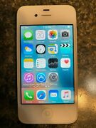Apple Iphone 4 - 8gb - White Unlocked A1332 Gsm Ca - Working - No Box