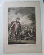 1796 Thomas Ryder Engraving Painted By Francis Rigaud 1st Edition Shakespeare