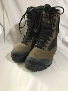 Jamie Asystec Hiking Outdoor Boots Womenandrsquos Mid Calf Leather Brown Size 10