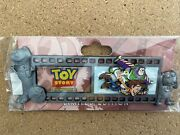 Disney Wdi Toy Story 1 25th Anniversary Film Strip Le 250 Pin Buzz And Woody Rex