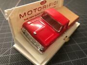 Vintage 1960's Ideal Motorific Racerific 1964 Ford Pick Up Truck Red Body Mint