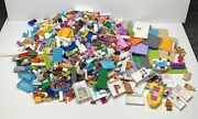 Lego 6+ Pound Lot Of Mini-figure Parts And Accessories Items Bulk Mix Legos 6+ Lbs