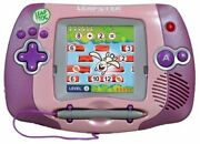 Leapfrog Leapster Handheld Learning Game System Console - Pink,w/ Game Cartridge