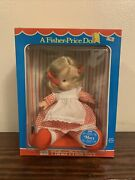Vintage 1973 Fisher Price Lapsitter Baby Doll Mary 200, New Old Stock