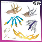 Lol Kda Evelynn Cosplay Fingers Paw Claw Anime Game Eva Weapon Prop Gift 4 Types