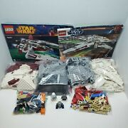 Lego Star Wars Incomplete Lot Scout Fighter 75051 X-wing 9493 See Description