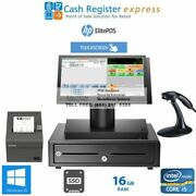 New Pcamerica Cre Retail Liquor Store Pos System I5/8gb/ssd Drive Free Support