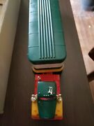 Excellent 1976 Hess Toy Truck And Barrels In Original Box - Lights Work
