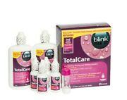 Blink Total Care-gas Permeable And Hard Lens Disinfecting Wetting Solution-boston