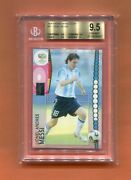 2006 Panini World Cup Germany Lionel Messi Bgs 9.5 Argentina Barcelona Gem Mint