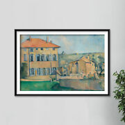 Paul Cezanne - House In Aix 1887 Photo Poster Painting Art Print