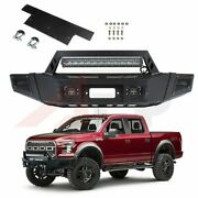 New Steel Front Bumper Face Bar Assembly For 09-14 Ford F 150 Standard