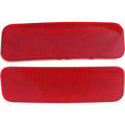 For Ford Transit Connect Rear Bumper Reflector 2014-2017 Lh And Rh Pair Van/wagon