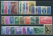 1948 Republic Italian, Italy, Stamps New, Year Complete 27 Val