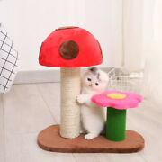 Cat Toys Cat Climbing Frame Cat Scratching Post Cat Tree Tower Activity Tree