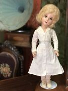 """Vintage Miss Curity Doll Orig Outfit Mohair Wig 21"""" Antique Composition Beauty"""