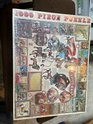1998,white Mountain,1000 Pc,jigsaw Puzzle,american Carousels,very Good Condition