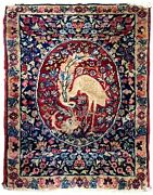 Handmade Antique Oriental Rug 2.1and039 X 3.2and039 64cm X 97cm 1880s - 1b651