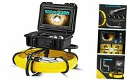 Drain Pipe Inspection Sewer Cameras, 23mm Hd 720p Camera With Led, 100m/328ft