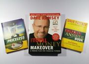 Dave Ramsey Total Money Makeover Signed Bundle W/ Priceless And Money Answer Book