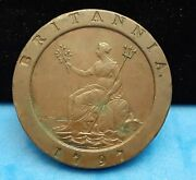 1797 Great Britain 2 Pence - Xf   Kt11