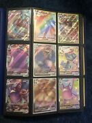 Pokemon Card Collection Binder Holo Foil Rare Full Art 600+ Cards.