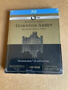 Masterpiece Downton Abbey Season 1 And 2 Blu Ray Limited Edition Pbs