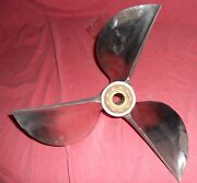 Mach Sterncleaver 15 X 24 Stainless Steel Racing Propeller For Mercury 113-17