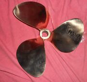 Chris Craft 14 X 10 7979 Nibral Inboard Propeller Right Hand 1.25 Bore 193-17