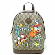 Auth Donald Duck Small Backpack 552884 Womens Backpack