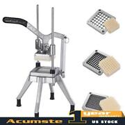 3 Blades Stainless Steel French Fry Cutter Potato Vegetable Slicer Chopper