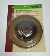 Portfolio 2 In 1 Light Fixture Canopy Blank Up Kit Aged Brass New Home Repair A2