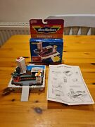 Micro Machines 1988 Vintage Galoob Playset Airport Marina With Box Instructions