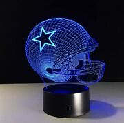 Dallas Cowboys Led Light Lamp Collectible Nice Gift For All Cowboys Men Women