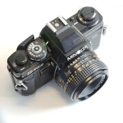Minolta X-700 Manual Camera With Md 50mm F/2.0 Lens Photography Students - Read