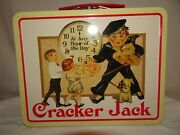 Cracker Jack Metal Lunch Box At Any Hour Of The Day Vintage Retro 2001