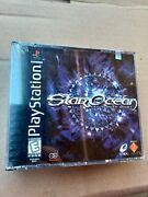Star Ocean The Second Story Sony Playstation 1 1999 Brand New - Factory Seal