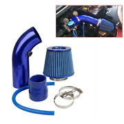 76mm/3 Car Cold Air Intake Filter Induction Pipe Power Flow Hose System Kits