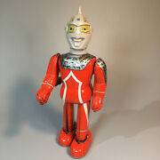 Ultra 7 Ultraman Bullmark Tin Litho Windup Figure Vintage From Japan 1960and039s-70and039s