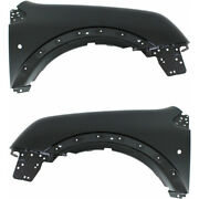 For Ford Transit Connect Fender 2010 11 12 2013 Lh And Rh Pair / Set Front Capa